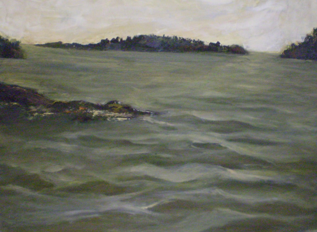 """Turning Tide - Oil on Canvas - 24""""x22"""""""