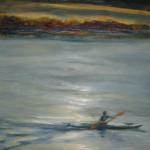 """Kayak One - Oil on Canvas - 24""""x24"""""""